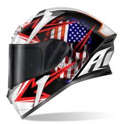 Casco Airoh Valor Sam integrale helmet grafica America