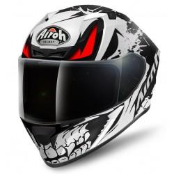 Casco Airoh Valor Bone integrale helmet grafica