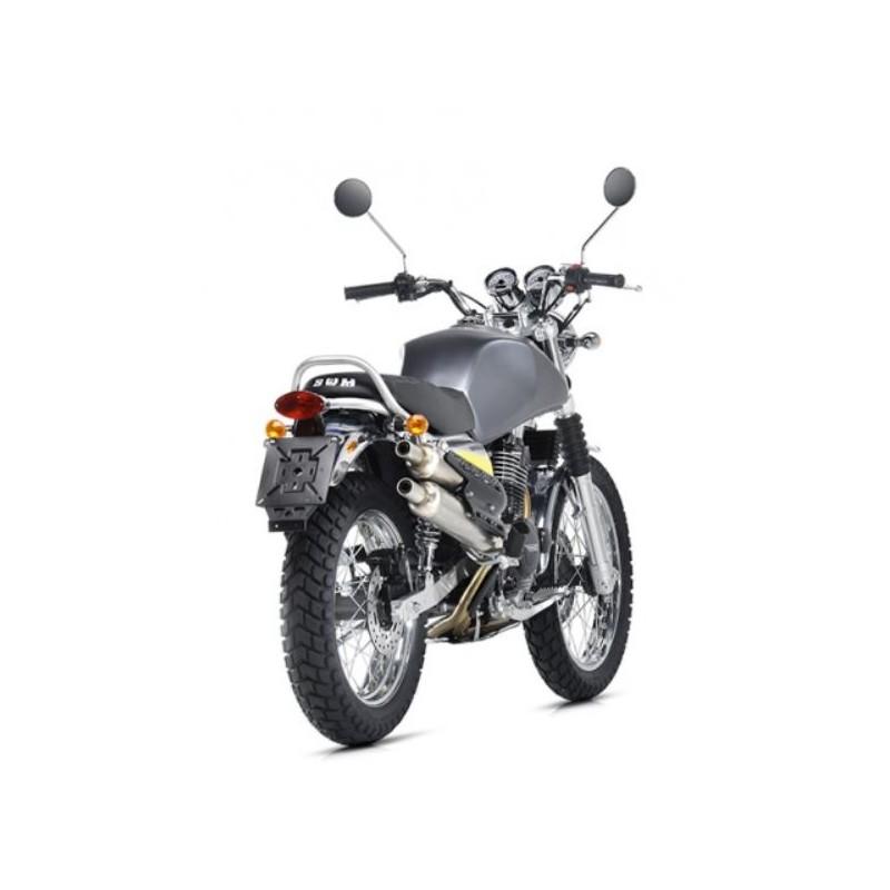 swm silver vase moto scrambler vintage 445cc 4 tempi. Black Bedroom Furniture Sets. Home Design Ideas