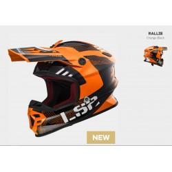 LS2 casco cross MX456 Light EVO Rallie arancio KTM helmet casque