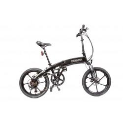 GPbike Corsa bici elettrica pieghevole nera opaca 36v 250w