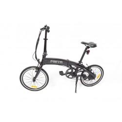GPbike Pista bici elettrica pieghevole nera opaca 36v 250w