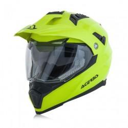 Acerbis casco Flip FS 606 cross enduro giallo fluo modulare