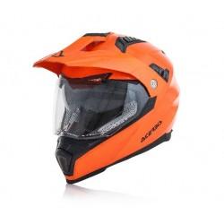 Acerbis casco Flip FS 606 cross enduro arancio fluo modulare