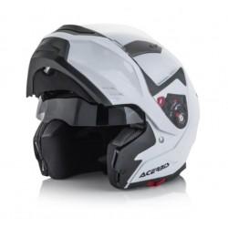 Acerbis casco BOX  G-348 modulare bianco lucido helmet casque