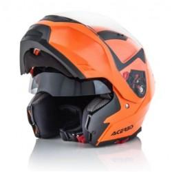 Acerbis casco BOX G-348 modulare arancio fluo helmet casque