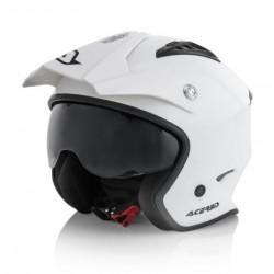 Acerbis casco Aria jet bianco lucido trial helmet casque