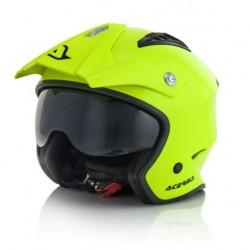 Acerbis casco Aria jet giallo fluo trial helmet
