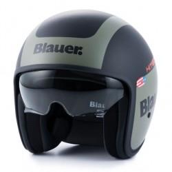 Blauer casco jet Pilot 1.1 nero opaco green helmet casque