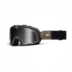 100% occhiale moto maschera Barstow Snake River lente fumè