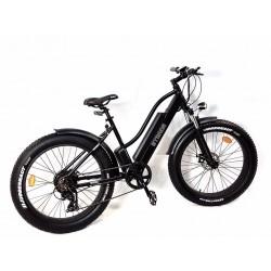 GPbike Strada bici elettrica Fat bike 26x4.0 nera opaca 48v 250w