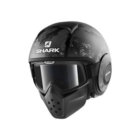 Shark Drak Raw casco jet Evok matt helmet casque black antracite