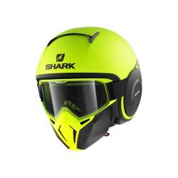 Shark Street Drak casco jet helmet casque black yellow