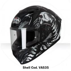 Casco Airoh Valor Shell integrale helmet grafica