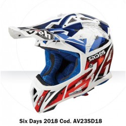 Casco Airoh Aviator 2.3 helmet six days casque cross