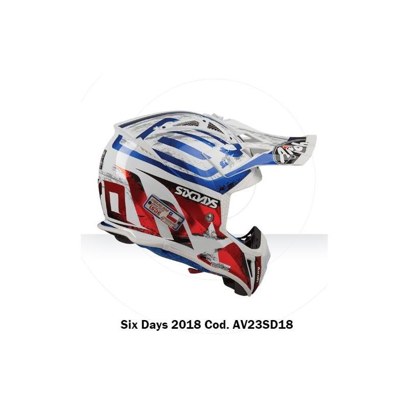 Casco Airoh Aviator 23 Helmet Six Days Casque Cross