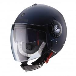 Caberg casco jet Riviera V3 blu opaco helmet casque