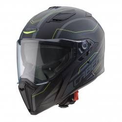 Caberg casco Jackal integrale Supra black matt yellow helmet casque