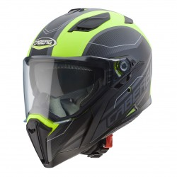 Caberg casco Jackal integrale Supra black yellow fluo helmet casque
