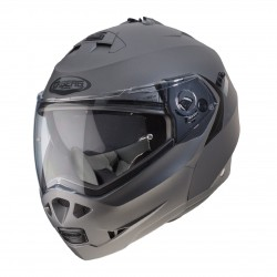 Caberg casco Duke II antracite opaco jet modulare helmet casque