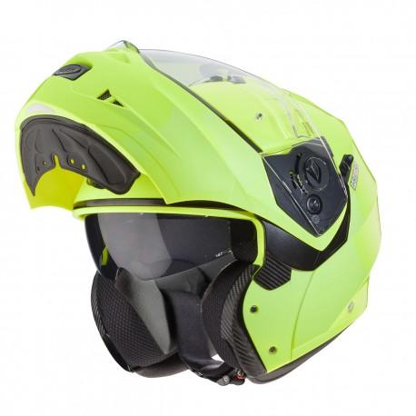Caberg casco Duke II giallo fluo modulare helmet casque