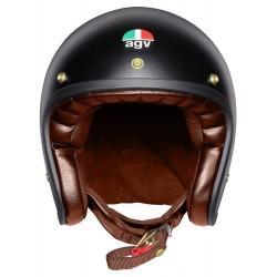 Agv casco X70 vintage helmet casque jet moto black gold matt