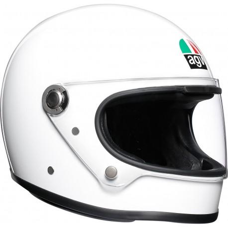 Agv helmet X3000 bianco lucido white gloss integrale vintage