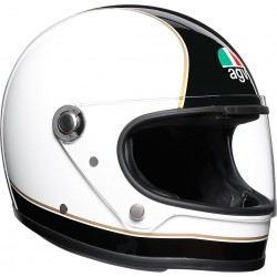 Agv helmet X3000 legend black white integrale vintage