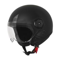 Origine casco jet Neon helmet casque nero opaco