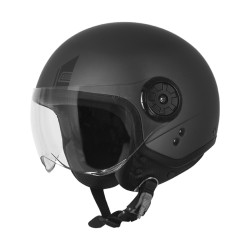 Origine casco jet Neon helmet casque antracite opaco