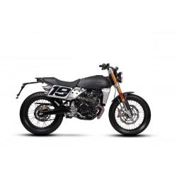 Fantic Caballero 125 Flat track nera opaca moto 16 anni