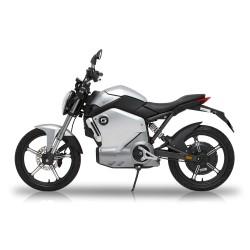Super Soco TS moto elettrica 1200w bosch colore silver
