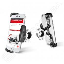 Barracuda supporto manubrio telefono smartphone moto in alluminio