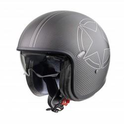 Casco casque jet Premier Vintage helmet Carbon Star