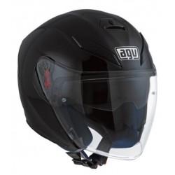 Agv casco jet moto K5 carbonio nero lucido helmet casque