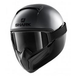 Shark Vancore 2 casco moto integrale Neon antracite opaco con maschera
