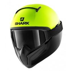 Shark Vancore 2 casco moto integrale Neon giallo opaco con maschera