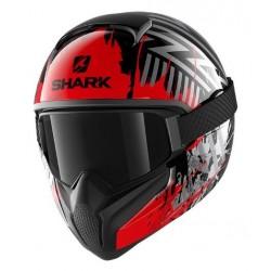 Shark Vancore 2 casco moto integrale Overnight rosso lucido con maschera