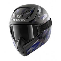Shark Vancore 2 casco moto integrale KANHJI blu opaco con maschera