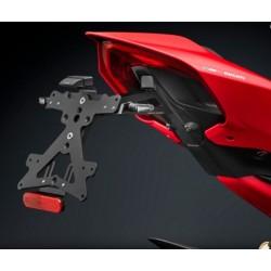 Rizoma porta targa Ducati V4 + luce targa e catadriotto