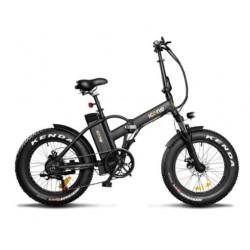 Bicicletta elettrica Icone 48v 250w fat bike 20 x 4.0 Pure S nera opaca