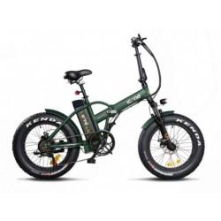 Bicicletta elettrica Icone 48v 250w fat bike 20 x 4.0 Marines S verde