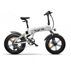 Bicicletta elettrica Icone X7 48v 250w fat bike 20 x 4.0 silver