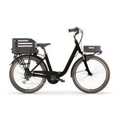 Bicicletta elettrica MBM 26 Pulse 36v 250w nera opaca