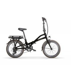 Bicicletta elettrica MBM 20 metro 36v 250w nero opaco folding