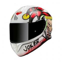 MT helmets Targo Jocker bianco casco moto integrale
