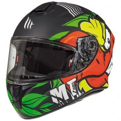 MT helmets Targo Truck A2 nero casco moto integrale