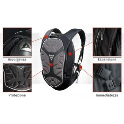 Dainese zaino moto Backpack-S D-Exchange