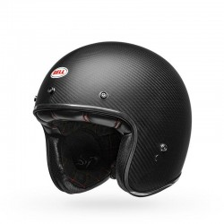 Bell Custom 500 casco jet vintage Carbon matt casque helmet