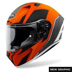 Casco Airoh Valor Wings arancio Ktm integrale moto helmet grafica